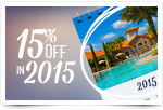 15% Off Travel in 2015